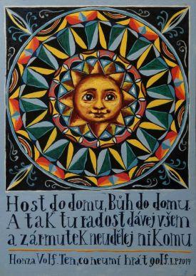 "Obraz ""Mandala - Host do domu"""