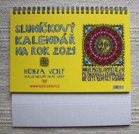 Sluníčkový kalendář 2021 - stolní
