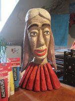 Dřevěné soška 02