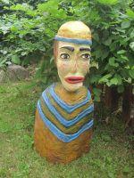 Dřevěné soška 05