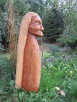 Dřevěné soška 06