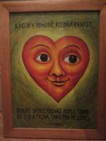 """Obraz """"Dobré srdce"""" 26"""