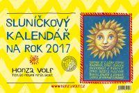 Sluníčkový kalendář na rok 2017 - stolní