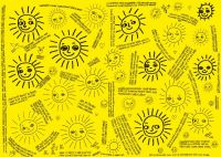 Balící sluníčkový papír
