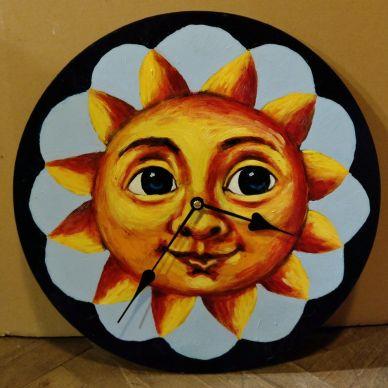 Sluníčkové hodiny 1
