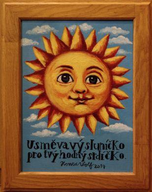 "Obraz ""Usměvavý sluníčko"""