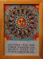 "Obraz ""Mandala - Sluníčko moje milé"" 2"