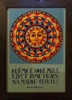 """Obraz """"Mandala - Buďme k sobě milí"""" 4"""