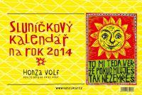 Sluníčkový kalendnář 2014 - stolní
