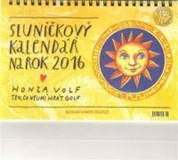 Sluníčkový kalendář na rok 2016 - stolní