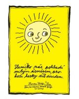 Sluníčko nás pohladí - plakát