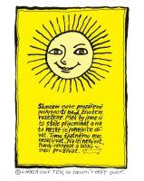 Sluncem nebe prozářené - plakát