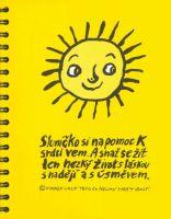 Sluníčkový notýsek - Buďme k sobě milí