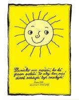 Sluníčko nic neřeší - plakát