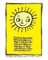 Sluníčko ti dává naději - plakát